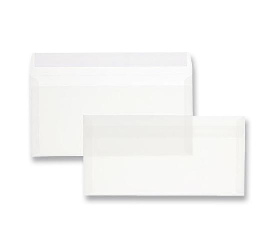 Transparentes Kuvert Din Lang 10er Pack